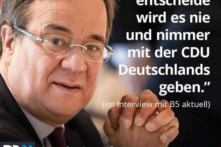 Armin Laschet, CDU zu Volksabstimmungen