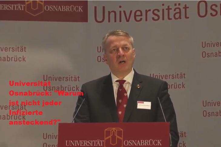 """Universität Osnabrück: """"Warum ist nicht jeder Infizierte ansteckend?"""" Bei Frischer Luft kaum Ansteckungen"""