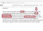 US-Wahlbetrug The Times gibt Verschwörung durch Kabale zu. Aber natürlich zum Guten