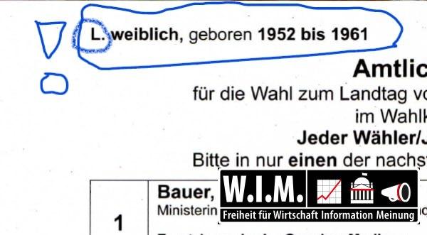 WIM deckt auf: Baden-Württemberg nutzt 520 Möglichkeiten Briefwahl-Stimmzettel zu markieren. Geheime Wahl ade!