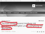 Biontech-Impfung in Sachsen teilweise gestoppt!! Bricht mörderisches Kartenhaus zusammen?
