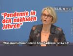 Glücksfall Schiebt Pandemie in nächsten Jahren weiter Forschung an Merkels Wissenschaftsminister