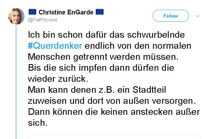 Merkel-Fans fordern Errichtung von Ghettos