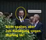 Jens Spahn Nicht spalten, aber Job-Kündigung wegen Impfung privat. Wie gut kann Regierung Chaos noch verbergen