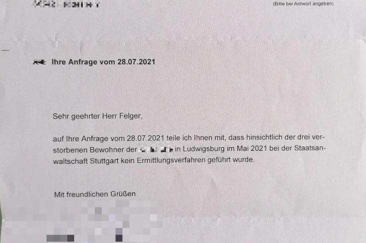 Kein Ermittlungsverfahren trotz drei Toten im Behindertenheim Ludwigsburg nach Corona-Spritzen