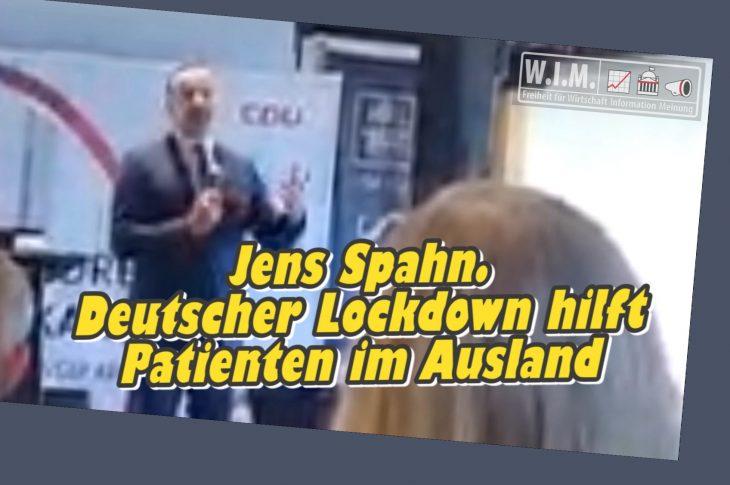 Jens Spahn sperrt Deutsche ein für Kranke im Ausland,