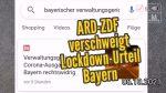 ARD-ZDF verschweigt Lockdown-Urteil Bayern